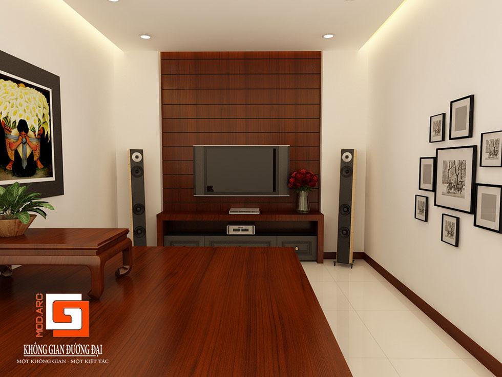 Kiến trúc nội thất phòng trà