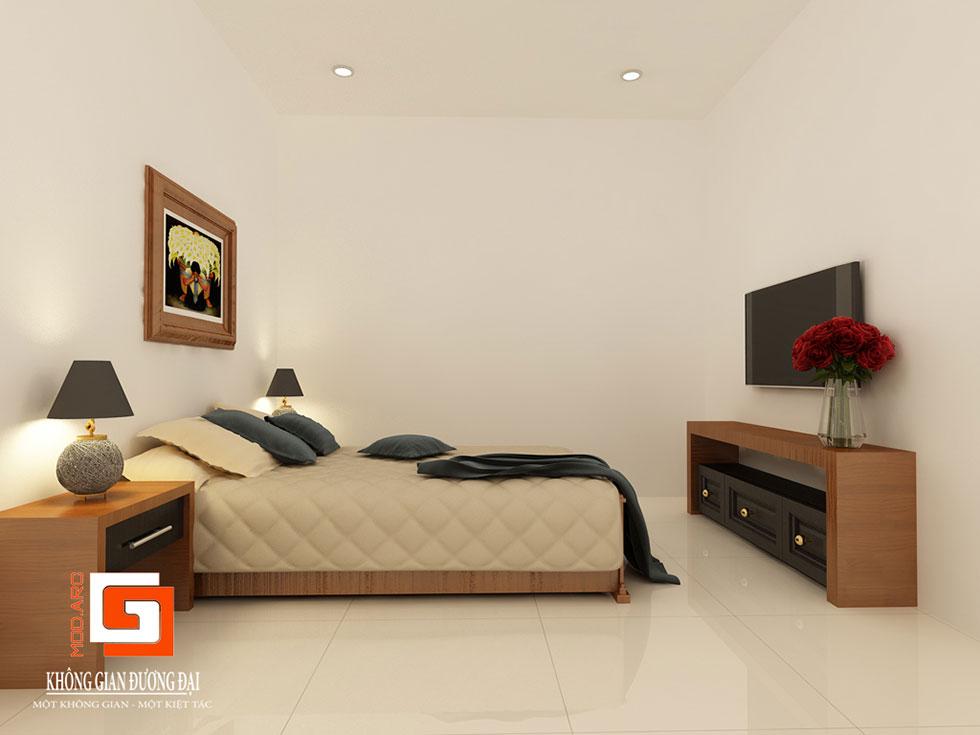 Kiến trúc nội thất phòng ngủ khách