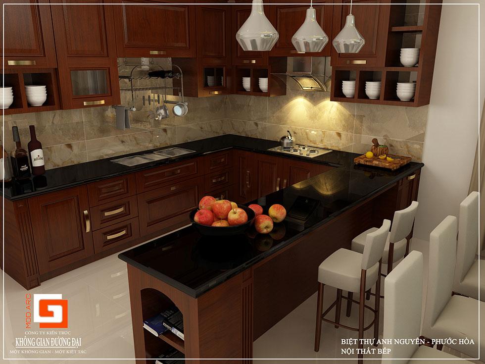 Kiến trúc nội thất nhà bếp