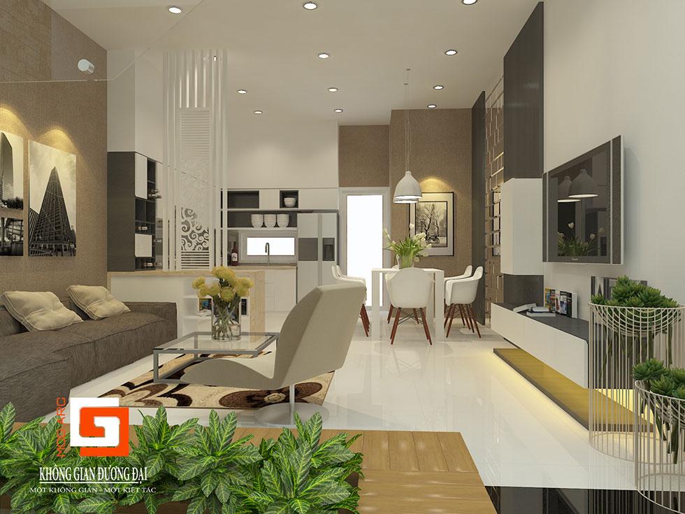 Kiến trúc nội thất phòng khách