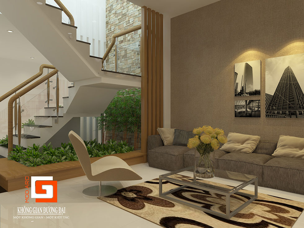 Kiến trúc nội thất cầu thang 1
