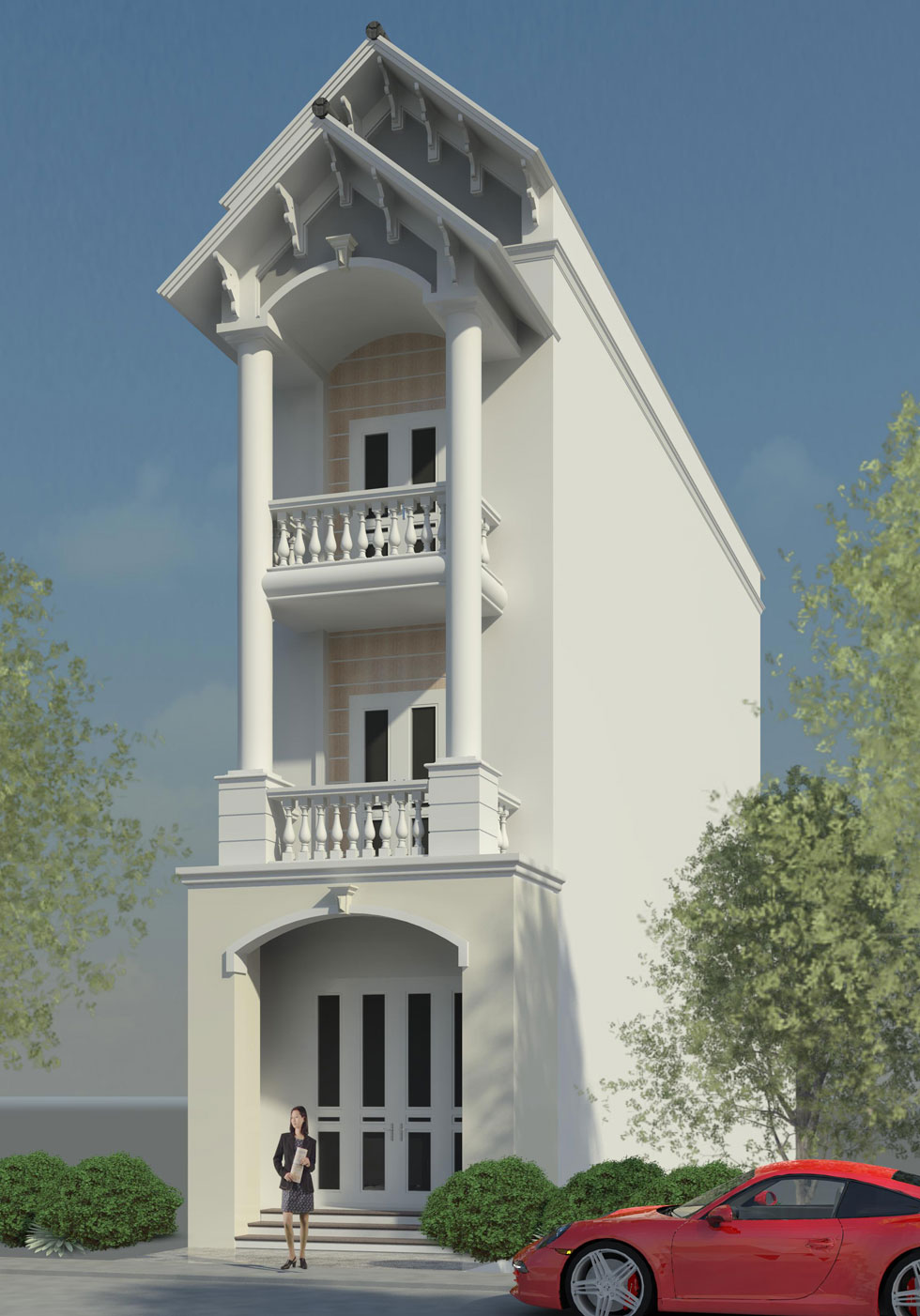 Kiến trúc ngoại thất