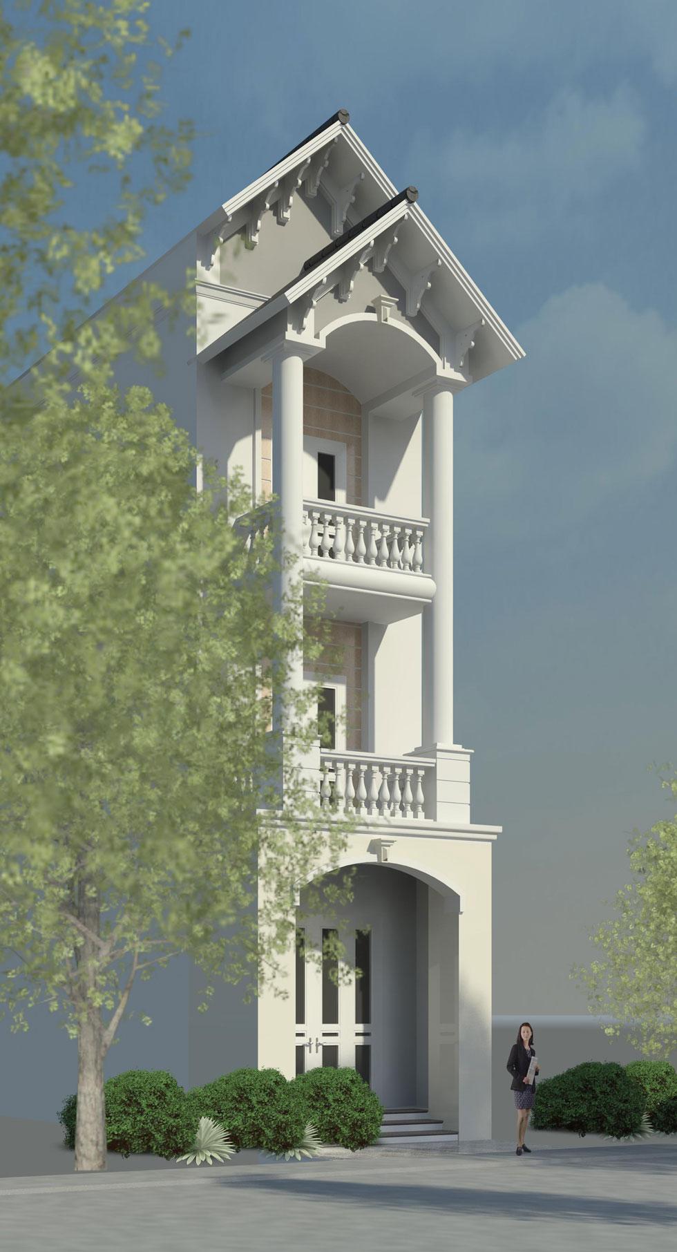 Kiến trúc ngoại thất 1