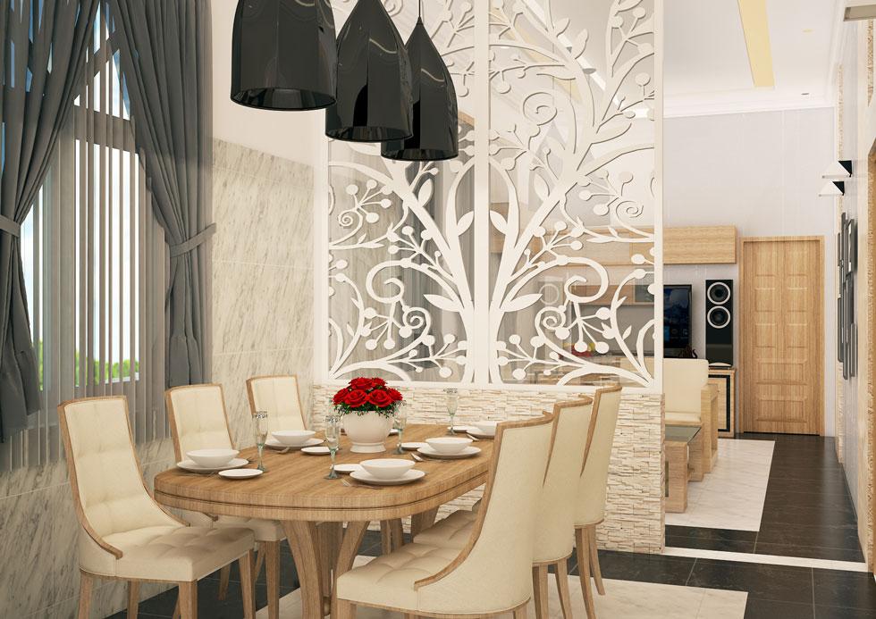 Kiến trúc nội thất - phòng ăn