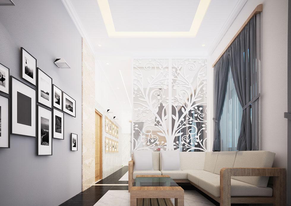 Kiến trúc nội thất - phòng khách view 2