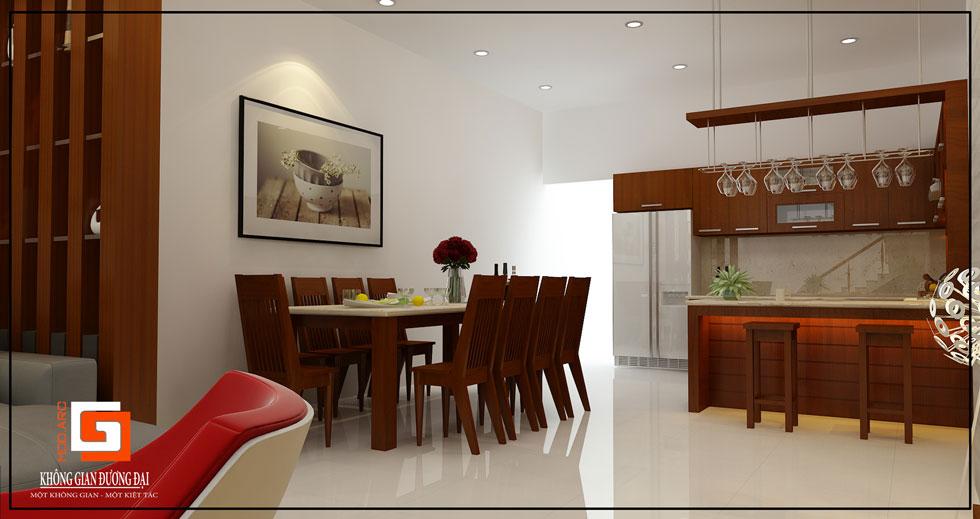 Kiến trúc nội thất nhà bếp 1