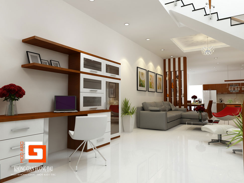 Kiến trúc phòng khách 1