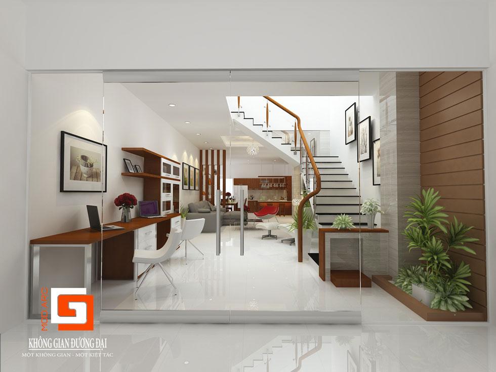 Kiến trúc phòng khách 2