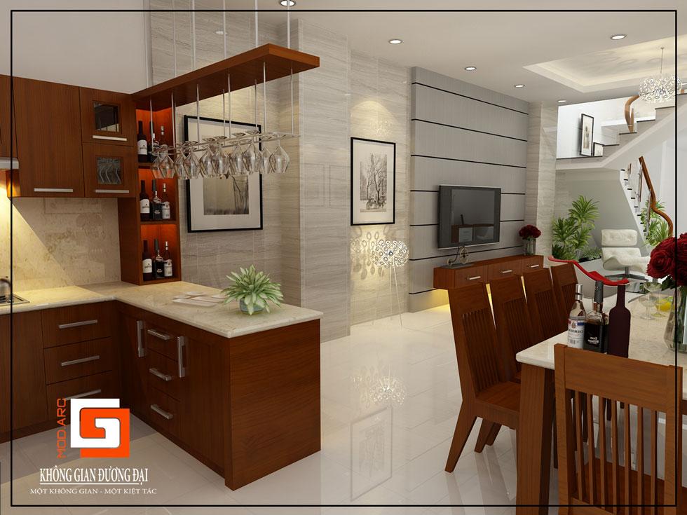 Kiến trúc nội thất quầy bar